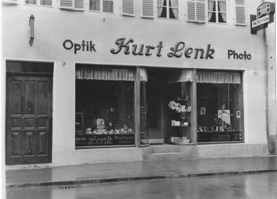 Außenansicht Optik Lenk, ca. 50er Jahre