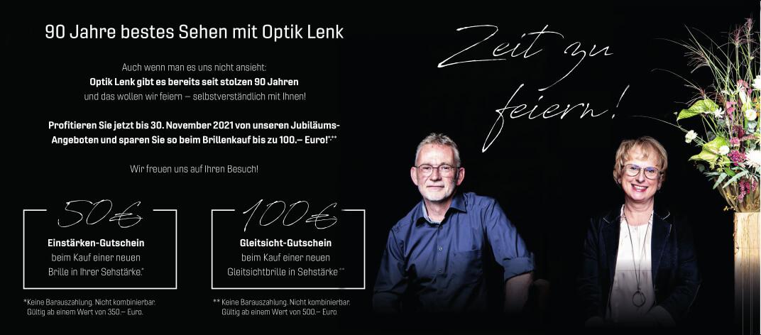 90 Jahre Optik Lenk
